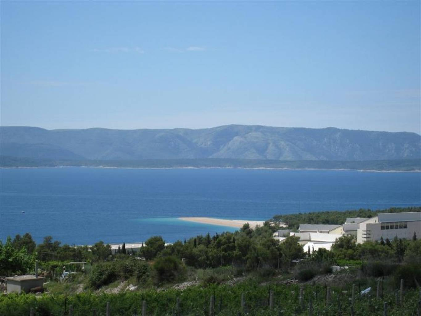 View of Zlatni Rat beach